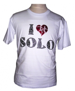 I Love Solo Timbul Foil