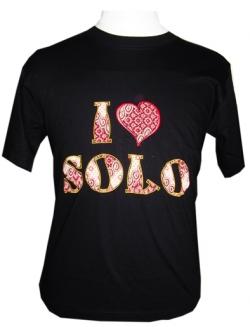 I Love Solo Bordir